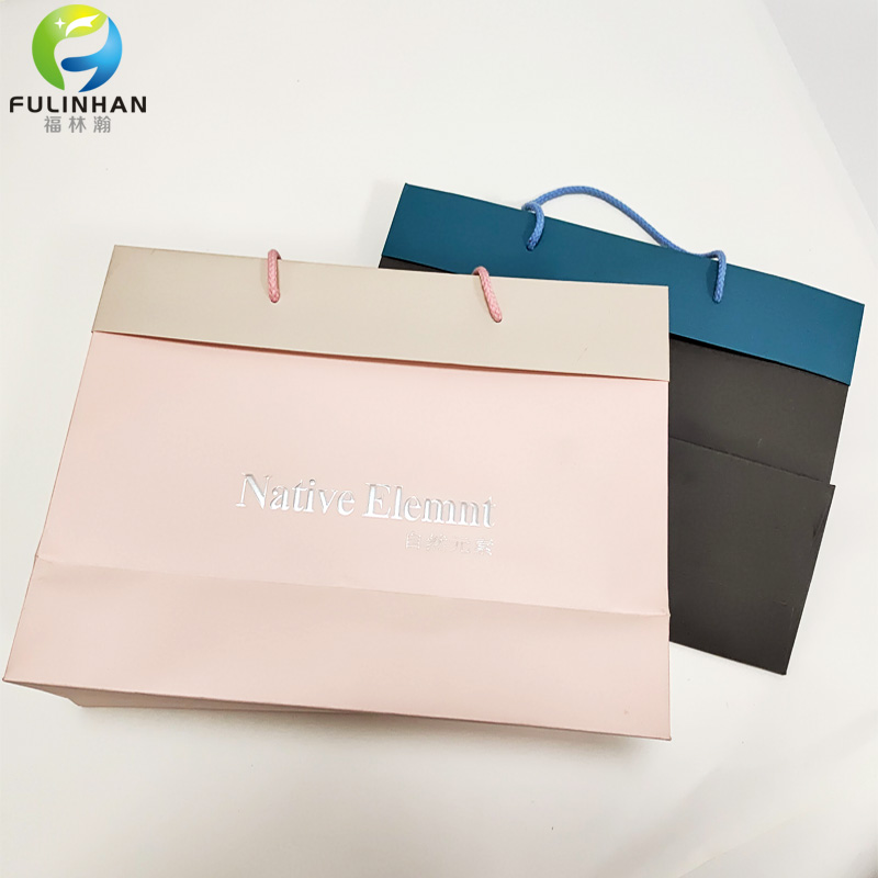 custom printed shopping paper bags