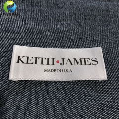 Clothing Printed Satin Labels