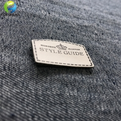 Pu patch in pelle rilievi