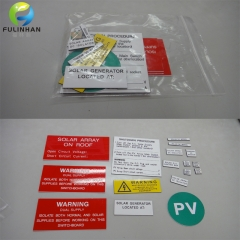 Engraving Label Kits for Australia solar power