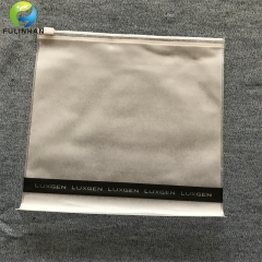 Matt PVC  zipper Bags