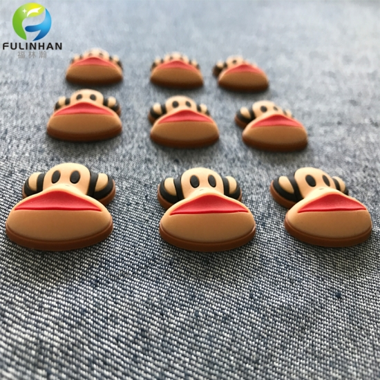 Rubber Silicone Badges