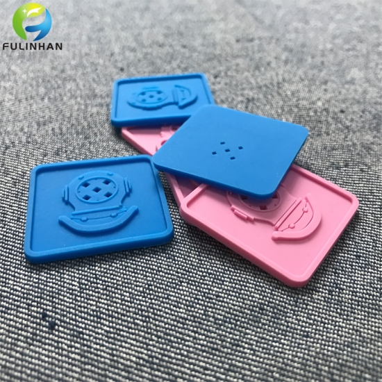 Silicone Badges Patches